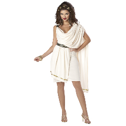 Deluxe Classic Toga (Female) Adult Costume 100-198778