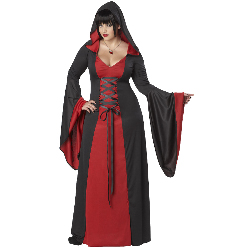 Deluxe Hooded Robe Adult Plus Costume 100-198824