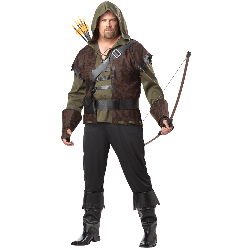 Robin Hood Adult Plus Costume 100-198826