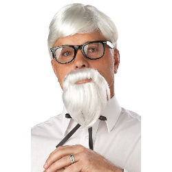 The Colonel Adult Wig and Beard 100-198850