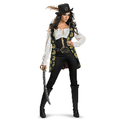 Pirates Of The Caribbean - Angelica Deluxe Adult Costume 100-198520