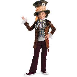 Alice in Wonderland Movie - Mad Hatter Child Costume 100-198332