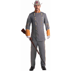 Confederate Officer Adult Costume 100-199165