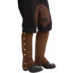 Steampunk Male Spats Brown Adult 100-199225