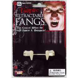Retractable Vampire Fangs Adult 100-199252