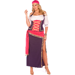 Gypsy Maiden Adult Plus Costume 100-199808