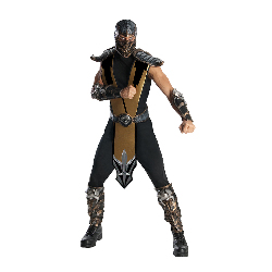 Mortal Kombat - Scorpion Deluxe Adult Costume 100-211060