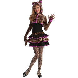 Leopard Tween Costume 100-211380