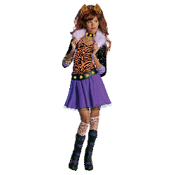 Monster High - Clawdeen Wolf Child Costume 100-211470