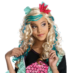 Monster High - Lagoona Blue Wig (Child) 100-211482