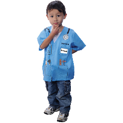 My First Career Gear - Doctor (Blue) Toddler Costume 100-199895