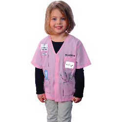 My First Career Gear - Doctor (Pink) Toddler Costume 100-199897