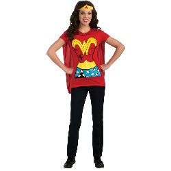 Wonder Woman T-Shirt Adult Costume Kit 100-212057