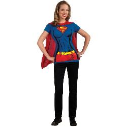 Supergirl T-Shirt Adult Costume Kit 100-212061