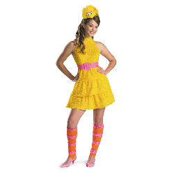 Big Bird Tween Costume 100-187274