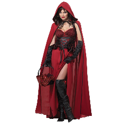 Dark Red Riding Hood Adult Costume 100-213095