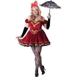 Circus Cutie Adult Plus Costume 100-213033