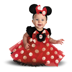 Disney Red Minnie Mouse Infant Costume 100-214012