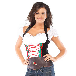 Beer Girl Bustier Adult Costume 100-214783