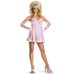 Austin Powers Sexy Fembot Deluxe Plus Adult Costume 100-212428
