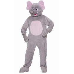 Elephant Plush Adult Costume 100-214471