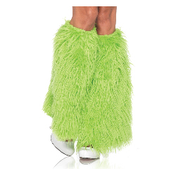 Furry Green Leg Warmers (Adult) 100-212732