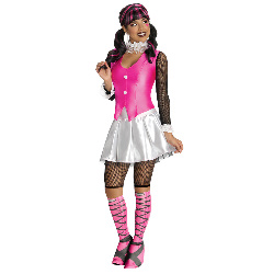 Monster High Deluxe Draculaura Adult Costume 100-215412