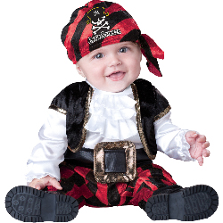 Cap'n Stinker Pirate Infant / Toddler Costume 100-212955