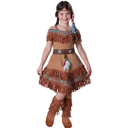 Indian Maiden Child Costume 100-212987