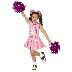 Pink Cheerleader Child Costume 100-215991