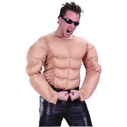 Muscle Shirt Adult Costume 100-213647