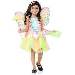 Rainbow Princess Fairy Toddler Costume 100-216570