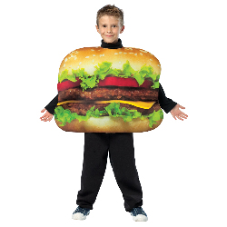 Cheeseburger Child Costume 100-215059