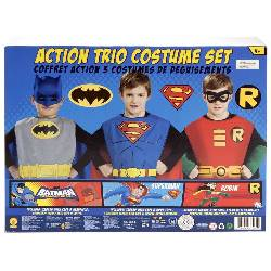 DC Comics Action Trio Child Costume Kit 100-216166