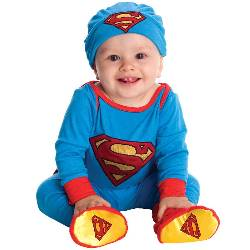 Superman Onesie Infant Costume 100-216172