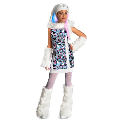 Monster High Abbey Bominable Child Costume 100-216263