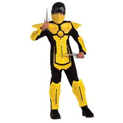 Yellow Ninja Child Costume 100-216340