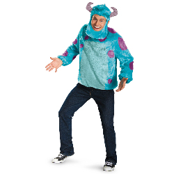 Monsters University Sully Deluxe Plus Adult Costume 100-216948