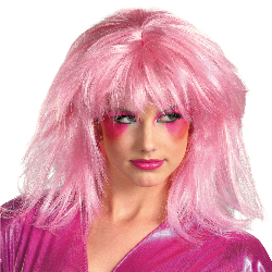 Jem And The Holograms Jem Adult Wig 100-217240