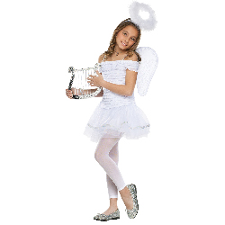 Little Angel Child Costume 100-217044