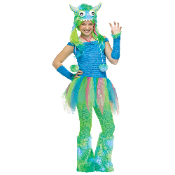 Blue Beasty Teen Costume 100-217064