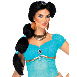 Disney Princesses Jasmine Wig 100-217418