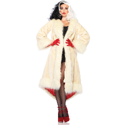Disney Cruella Adult Coat 100-217422