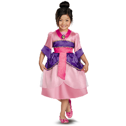 Disney Mulan Sparkle Toddler/Child Costume 100-218213