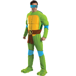 Teenage Mutant Ninja Turtles Deluxe Leonardo Adult Costume 100-217527
