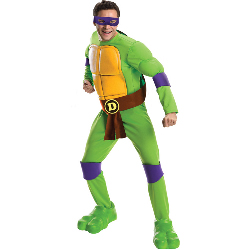 Teenage Mutant Ninja Turtles Deluxe Donatello Adult Costume 100-217528