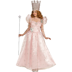 Wizard of Oz Deluxe Glinda the Good Witch Adult Costume 100-217671