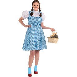 Wizard of Oz Dorothy Adult Plus Costume 100-217677