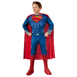 Superman-Man of Steel-Deluxe Lightup Superman Child Costume 100-218017