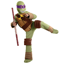 Teenage Mutant Ninja Turtle - Donatello Kids Costume 100-218132